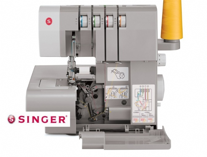 Singer Overlock HEAVY DUTY Sewing M End 4040820240 40240 AM Beauteous Overlock Sewing Machine Singer