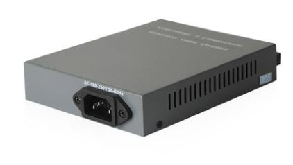 Single Mode Fiber to UTP Gigabit Media Converter 220V 20KM (S309)