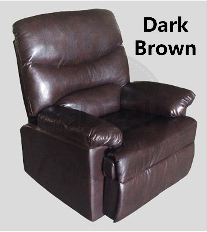 Single Seat Sofa Leather Sofa Recliner Sofa Chair Lounge