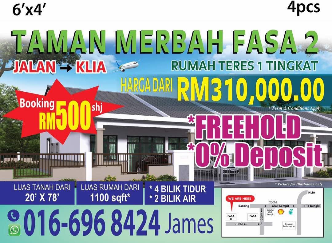 Single Y Terrance Malay Reserve Hot At Sepang Klia Salak Tinggi