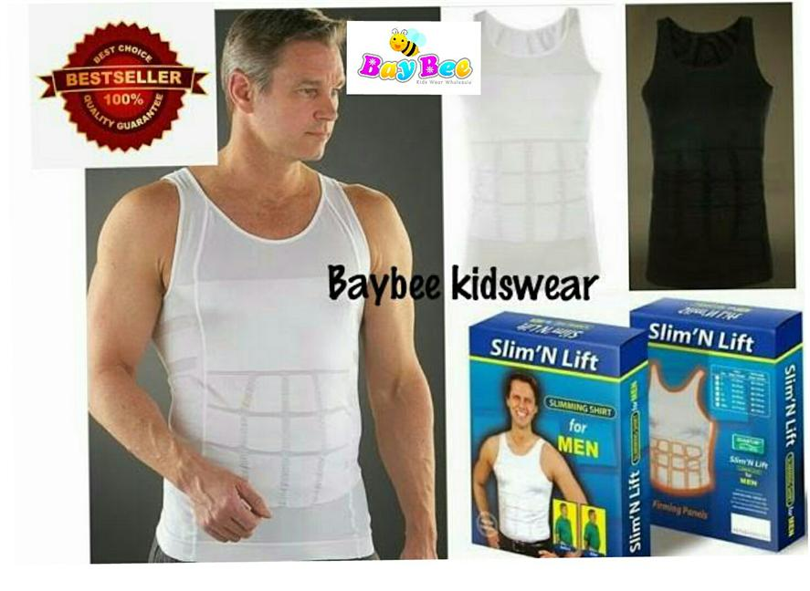 f2ab56db2d050 Singlet Slim n Lift Men Fit Body Shaper Vest   Copper Fit. ‹ ›