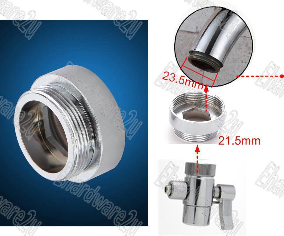 Sink Tap Large Spout Aerator Reduction Adaptor M24xM22 (MFM22XM24)