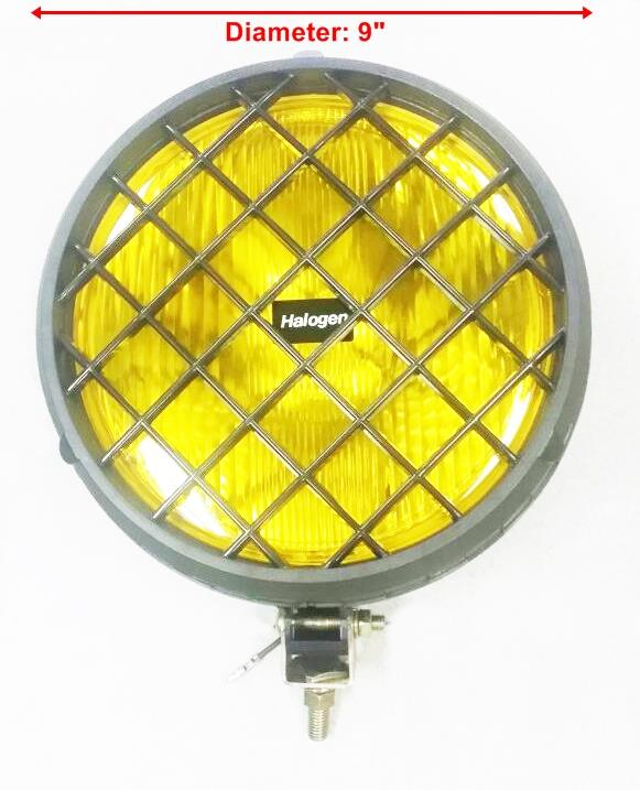 "SIRIUS 9"" Fog Lamp / Spot Light 4x4 (Made in Taiwan) x 2 pcs"