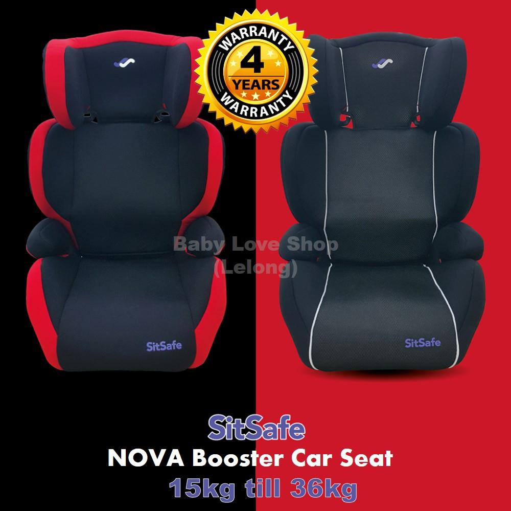 SitSafe NOVA Child Booster Car Seat ( (end 3/9/2019 1:09 PM)