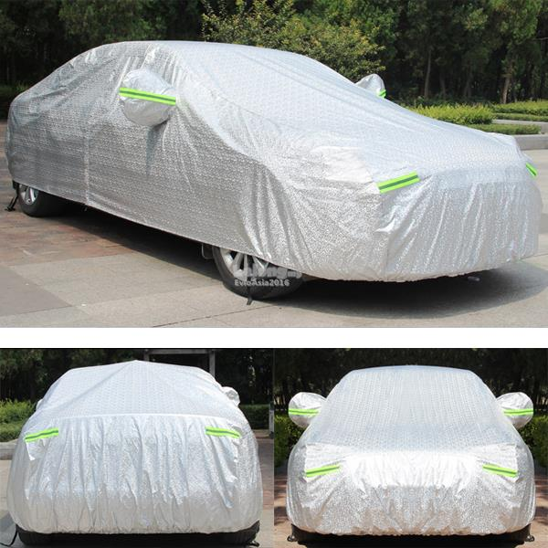 Size 3M - Full Car Cover Rain Dust Sunlight Resistant Protection