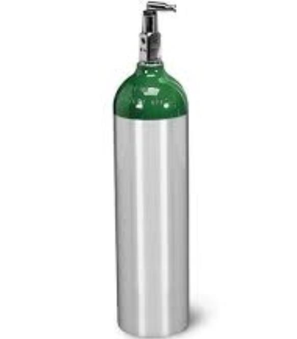 Aluminum gas cylinder sizes