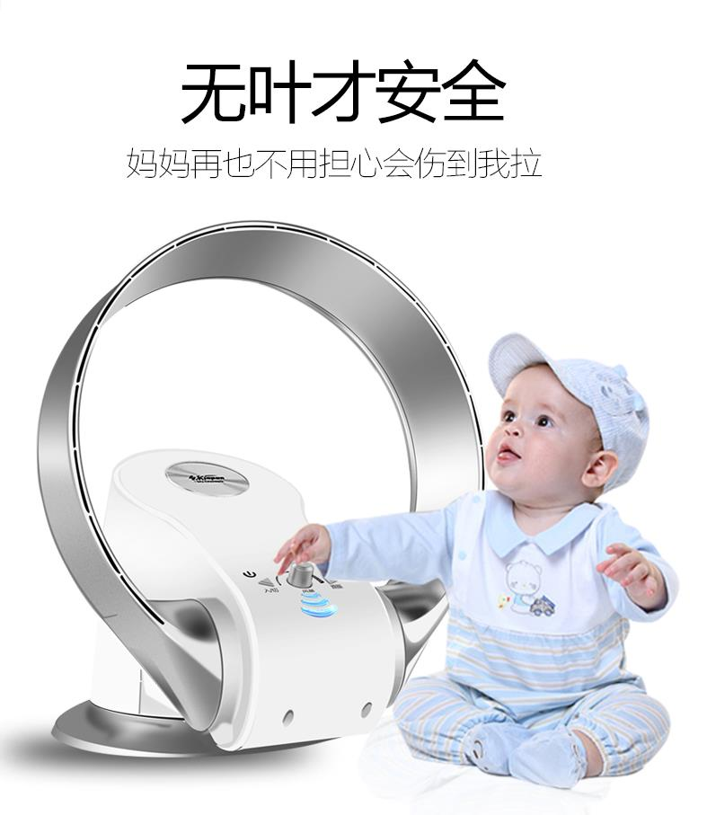 Bladeless Fan With Remote Control No Blade Fans Home