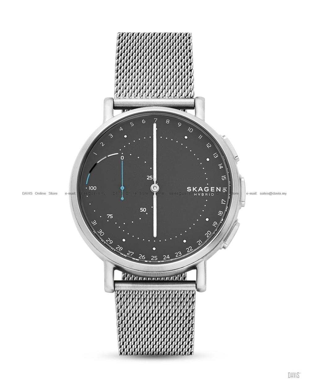 SKAGEN SKT1113 Signatur Connected Hybrid Smartwatch Mesh Bracelet Grey