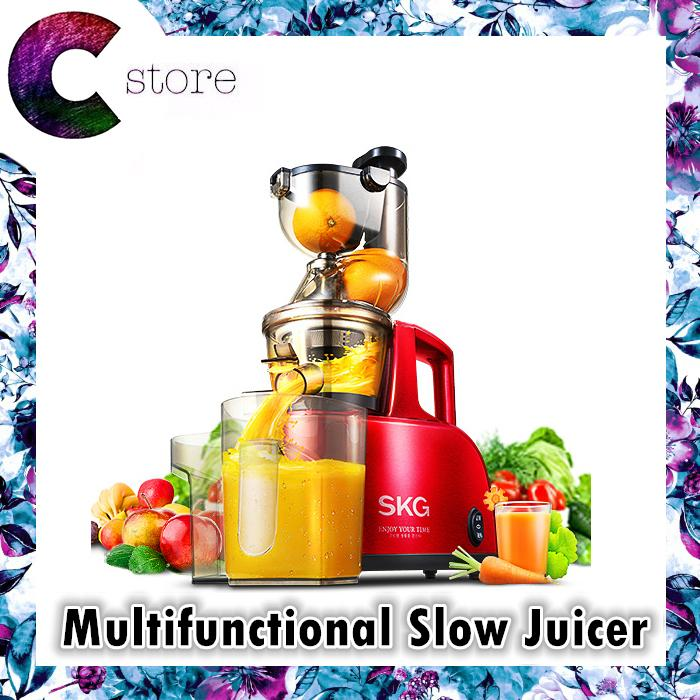 SKG Multifunctional Electric Whole Mouth Slow Juicer Extractor Machine