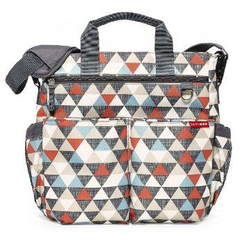 SKIP HOP DUO SIGNATURE DIAPER BAG 100% AUTHENTIC (Triangles)