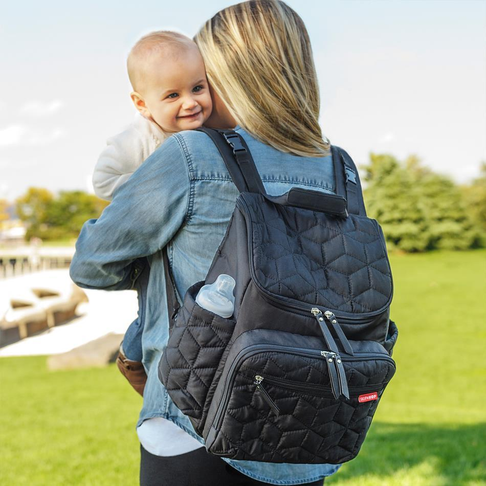 Skip Hop Forma Backpack Diaper Bag - Black Authentic