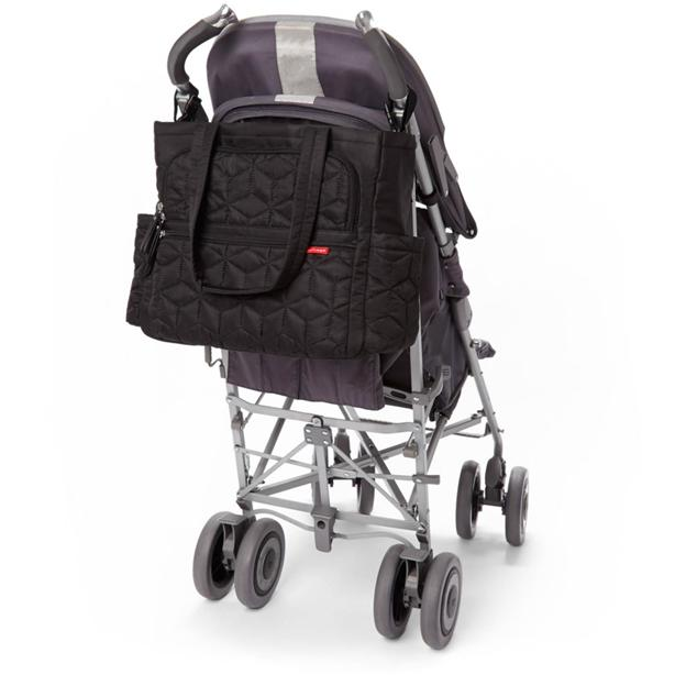 SKIP HOP FORMA pack & go diaper tote (Black) 100% Authentic