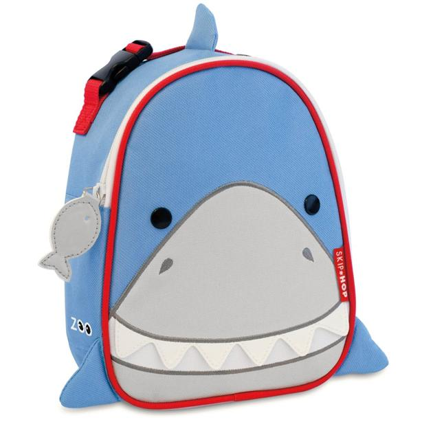 Skip Hop Lunchie Insulated Lunch Bag - Shark 100% Authentic