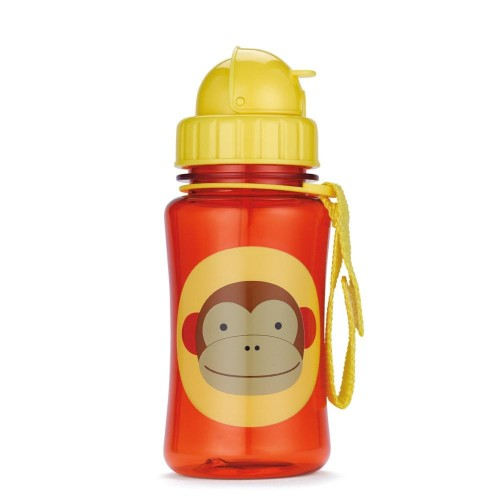 Skip Hop - Straw Bottle - Monkey
