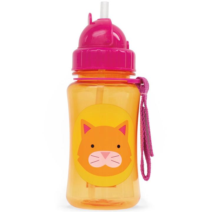 Skip Hop Zoo Straw Bottle - Cat (100% Authentic)