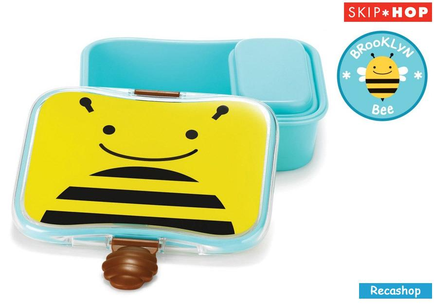 Skiphop Zoo Lunch Kit (Bee)