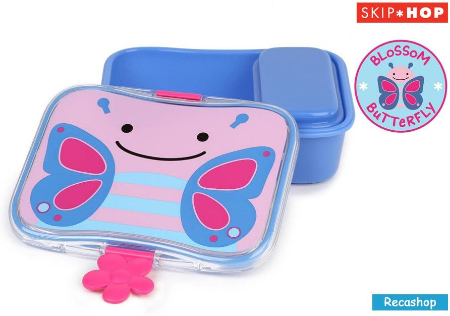 Skiphop Zoo Lunch Kit (Butterfly)