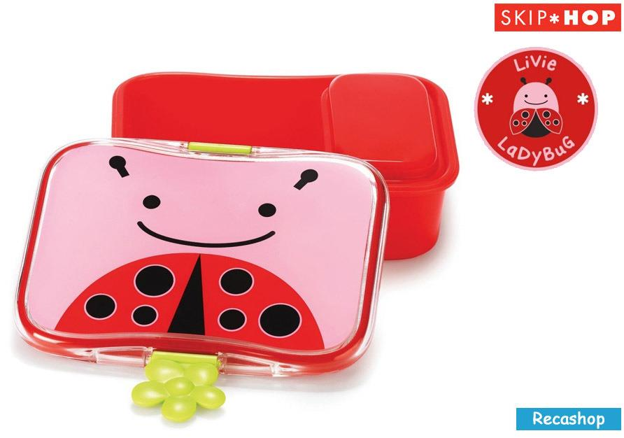 Skiphop Zoo Lunch Kit (LadyBug)