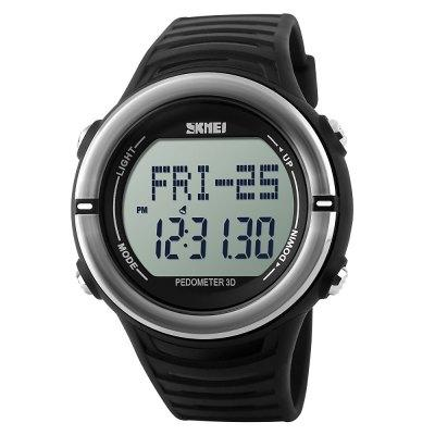 SKMEI 1111 Sport Watch, Heart Rate Monitor, Pedometer