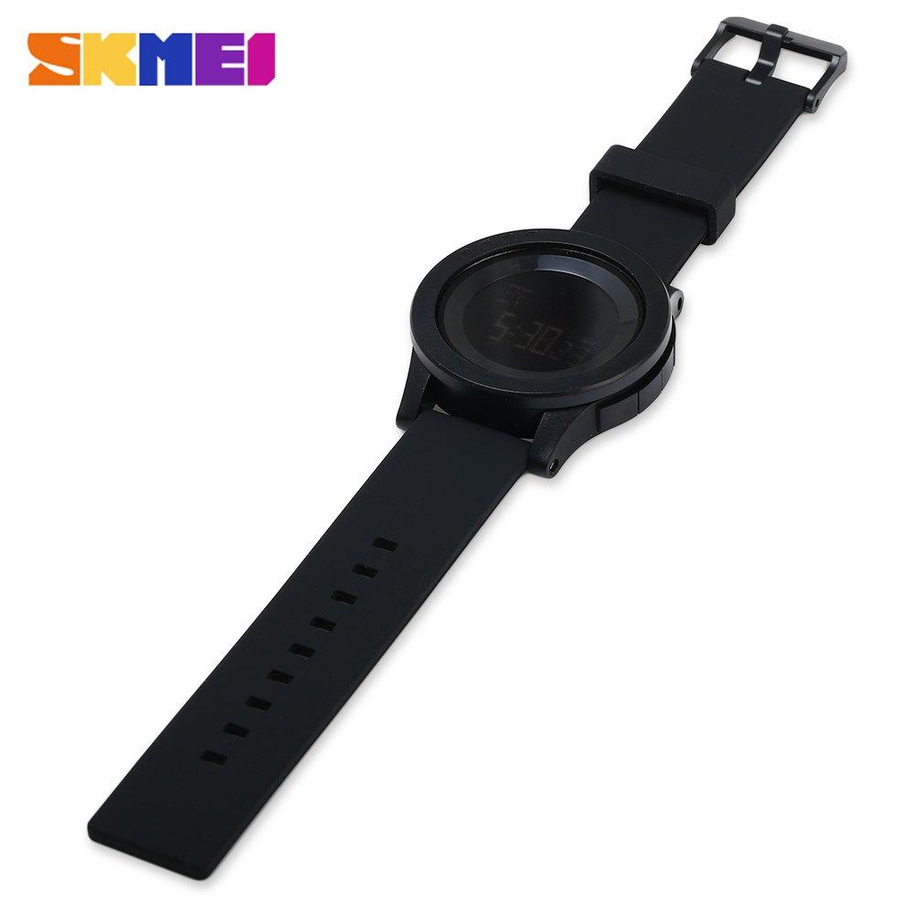 Skmei Casio Men Sport Led Watch Water Resistant 50m Ad1109 Blackred Jam Tangan Pria 1142 Digital Black