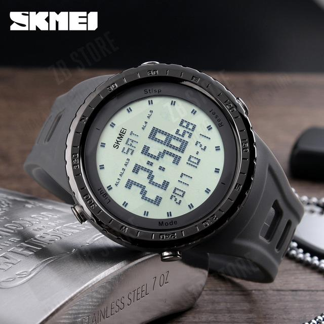 8ea3ab880a8 SKMEI 1246 Men Sports Watches 50m Waterproof Digital LED. ‹ ›