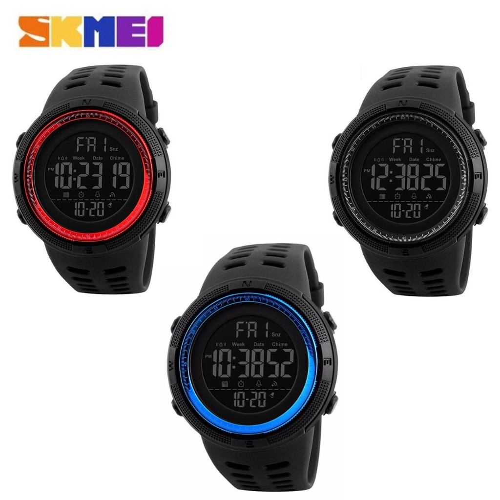 59697897aab SKMEI 1251 Men Sports Watches Countdown Double Time Watch. ‹ ›