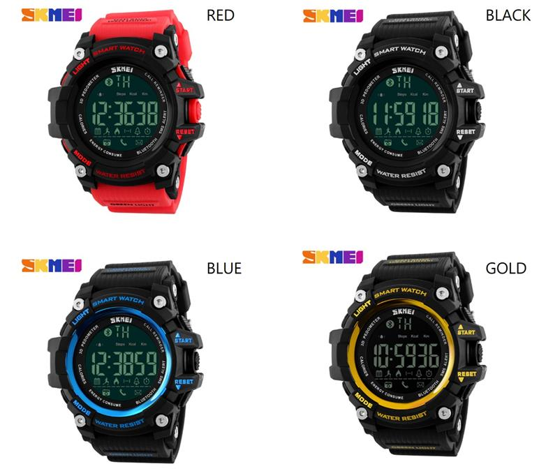 SKMEI Smart Sport Watch 1227 - Bluetooth Android iOS - Pedometer