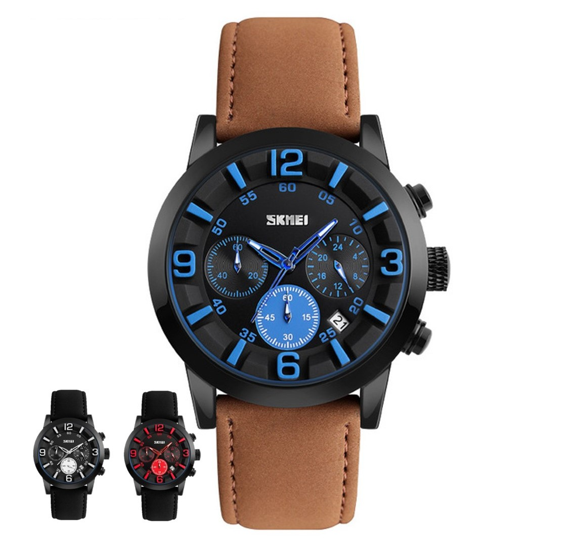 SKMEI Sports Quartz Watch 9147 - Men Fashion Watch Water Resist