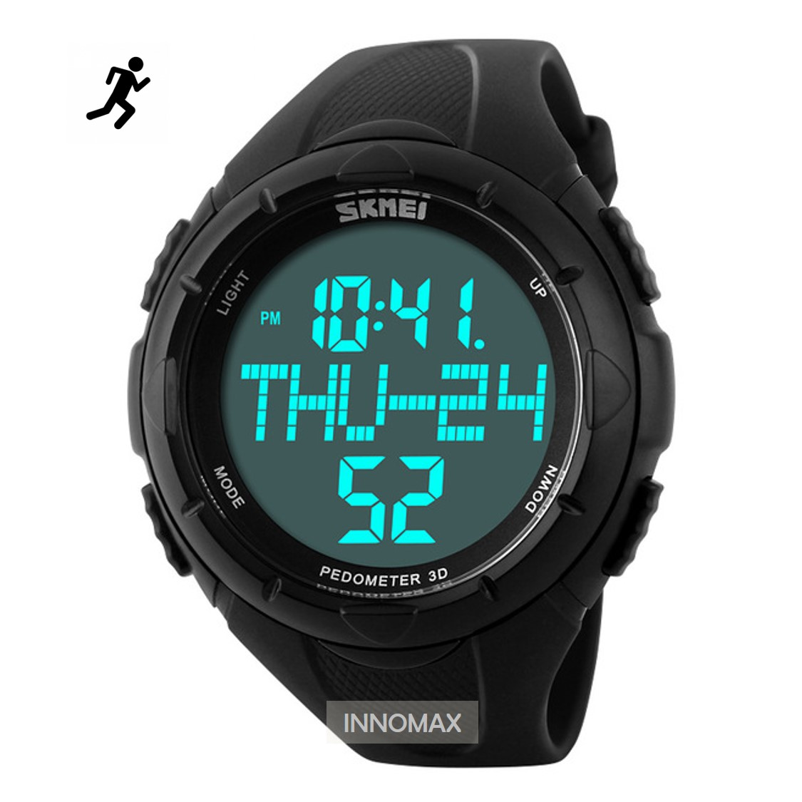SKMEI Sports Watch 1122 - Pedometer Stop Watch Water Resistant 50m
