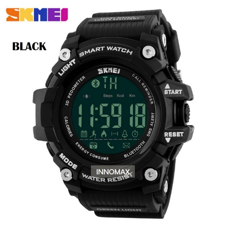 SKMEI Sports Watch 1227 - Bluetooth Pedometer Stop Watch Water Resista