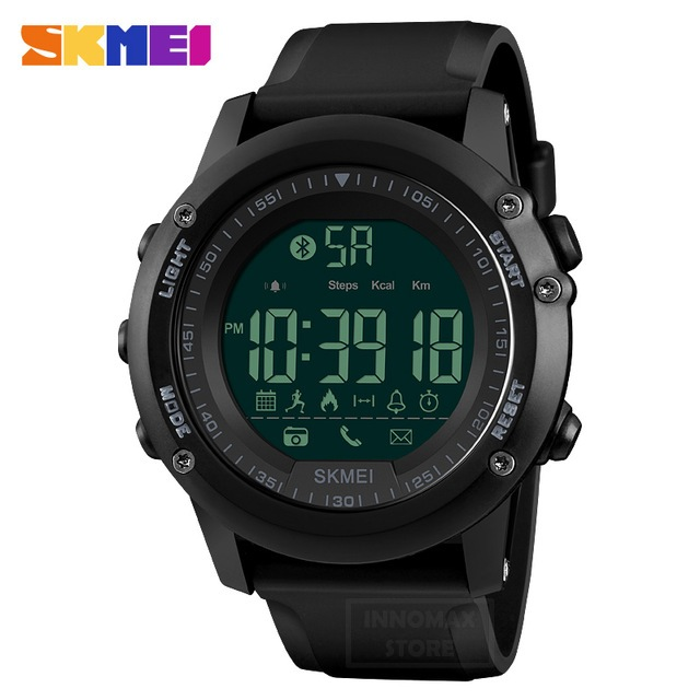 SKMEI Sports Watch 1321 - Bluetooth Pedometer Stop Watch Water Resist