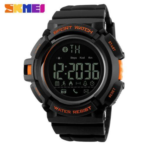 SKMEI SPORTS WATCH- BLUETOOTH PEDOMETER STOP WATCH WATER RESISTA