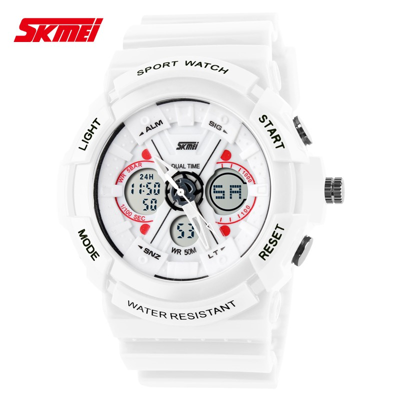 SKMEI Unisex Men's Women's Fashion Outdoor Digital Sports Watch