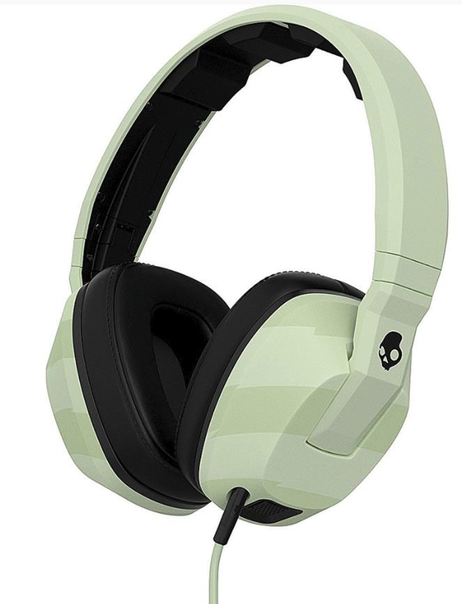 SkullCandy Crusher Headphones (Locals Only/Blac)k S6SCHX-445-PS