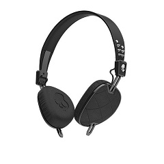 SKULLCANDY WIRED KNOCKOUT ON-EAR HEADSET (QUILTED BLK)