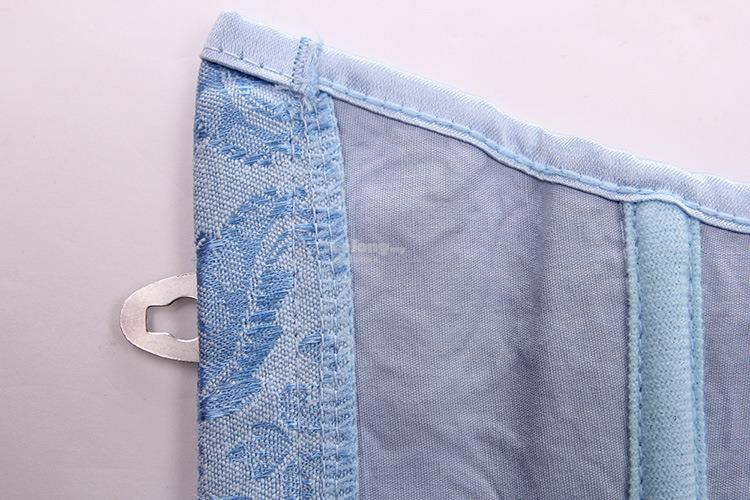 Sky blue Jacquard Court corset girdle body to lose belly