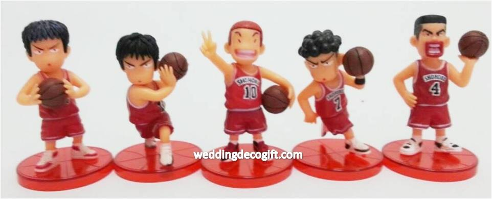 Slam Dunk Cake Topper, Slam Dunk Figurine - SDCT01