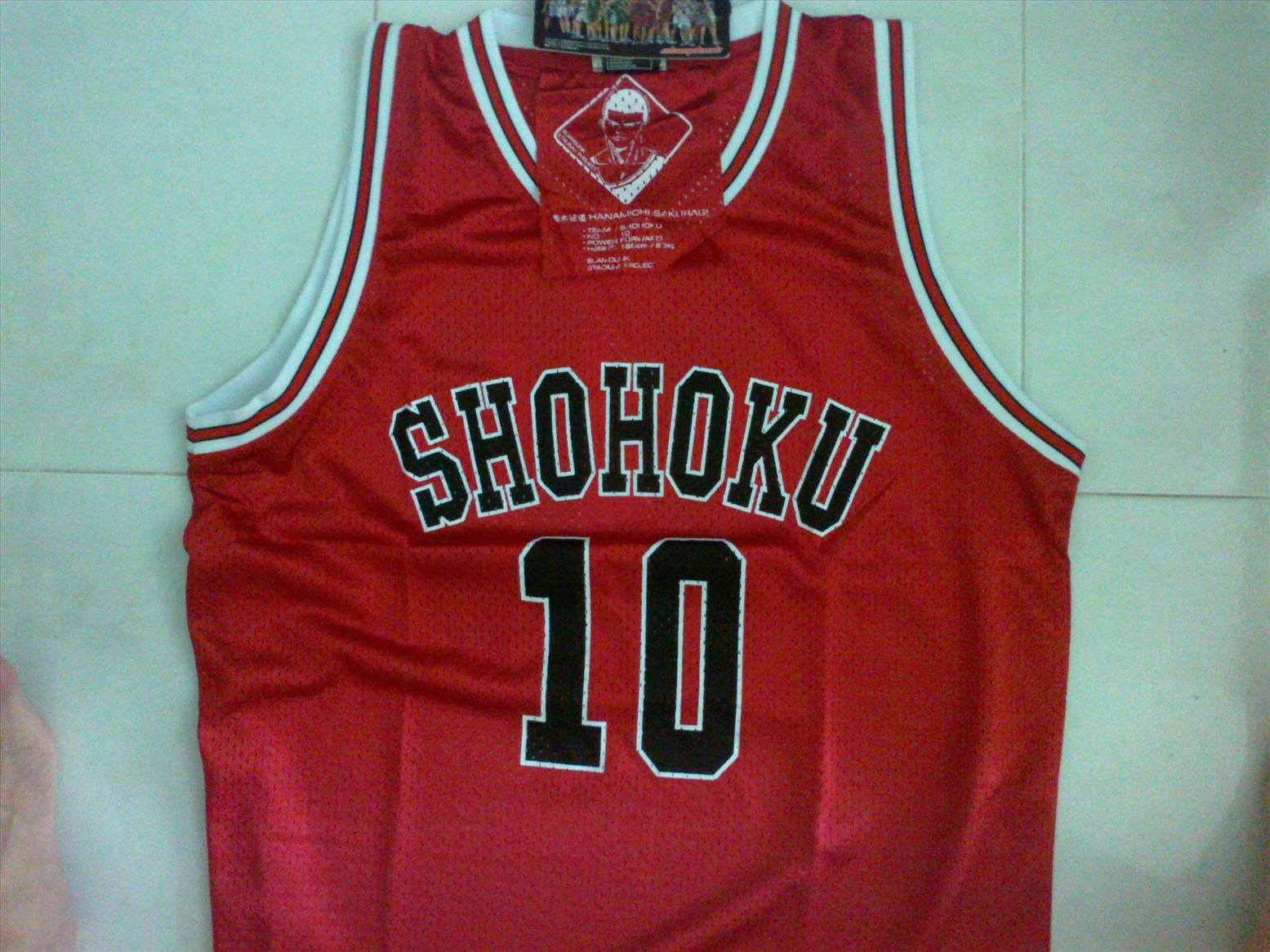e979bdeda17 Slam Dunk Shohoku Basketball Jersey Shirt (Japan) Baju bola keranjang. ‹ ›