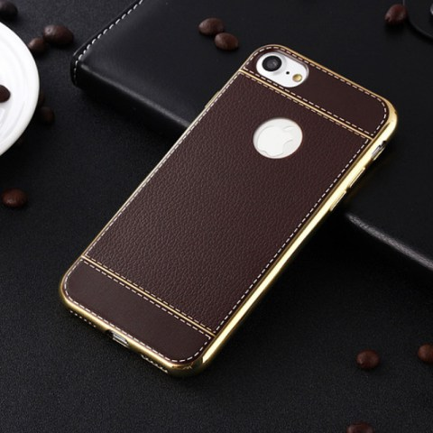 Sleek PU Leather Phone Case For IPhone