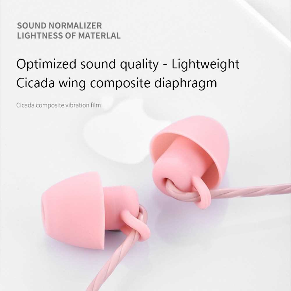 Sleep Headphones Noise-cancelling Earphones In-ear Silicone Earbuds