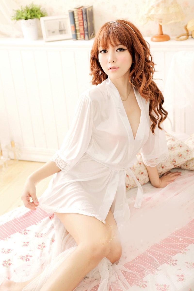 e46bd01024 Sleep Wear   Night Wear   Sexy Wear   Underwear 14423 White. ‹ ›