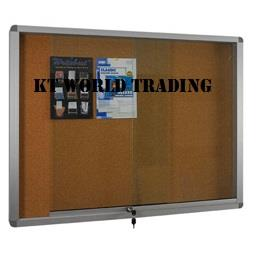 Sliding Glass Door Cork Notice Board 3′ x 5′