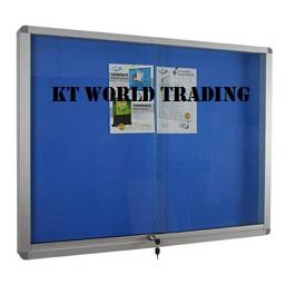 Sliding Glass Door Velvet Notice Board 2′ x 4′