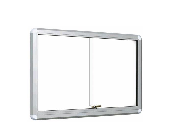 Sliding Glass Door with White Board Magnetic 3′ x4′ mont k