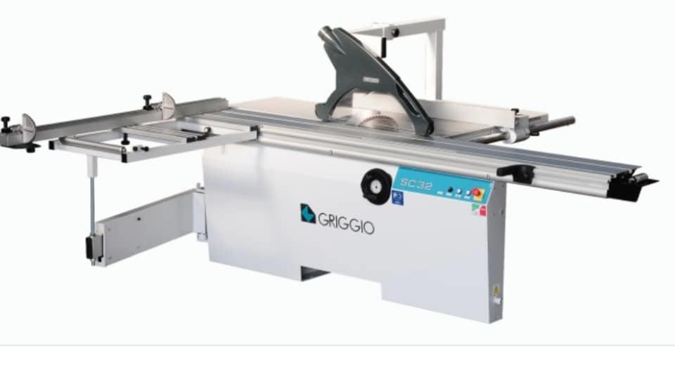 Sliding table saw italy