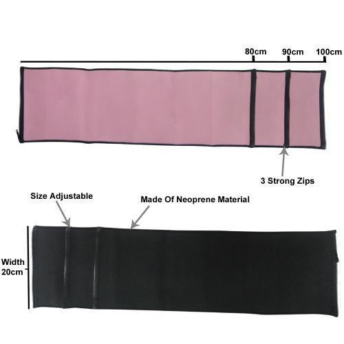 Slim Away-Men Women Slimming Belt Zipper Fit As Seen On TV.Kurus Perut