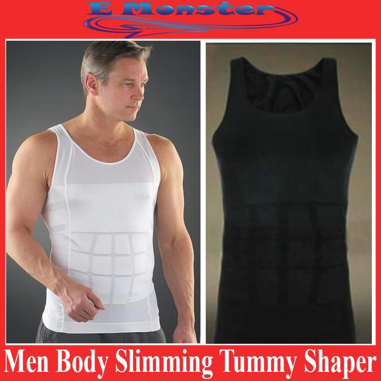 a57c16fdf Slim n Lift Body Shaper Vest Slimming Shirt for Men Undergarments. ‹ ›