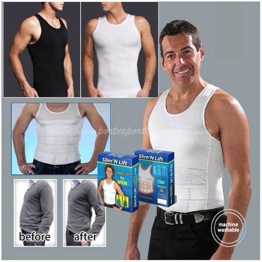 6cca180ed9c Slim n Lift Men Fit Body Shaper Vest (end 1 6 2017 9 21 AM)