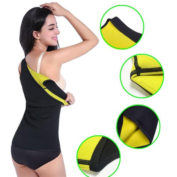 b91a1af6e1 Slimming Body Shaper for Women Tummy Weight Loss Hot Sweat Sauna