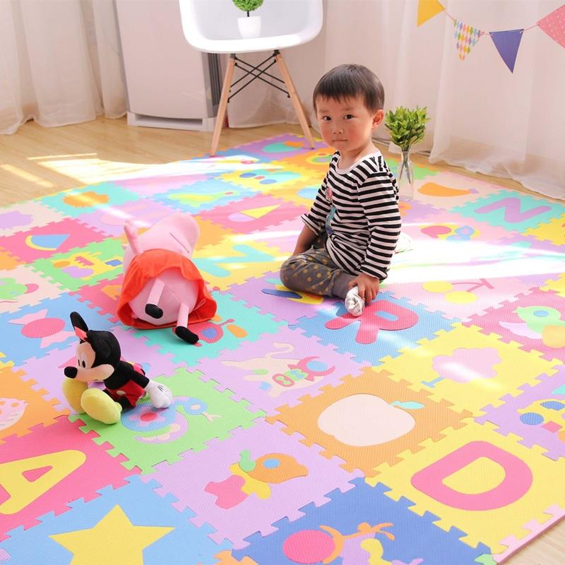 for slip in baby kids foam non on hobbies pattern item game pad mat mats eva educational puzzle toys floor geometric environmental jigsaw set from puzzles play